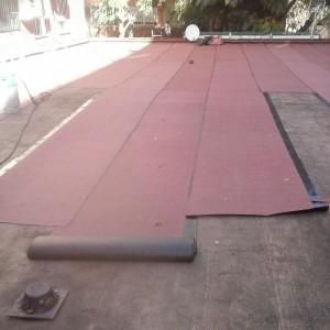 Impermeabilización cubierta Ciudad Fallera Valencia